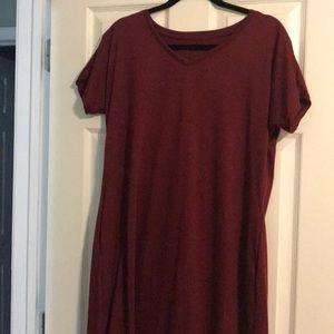 Never worn! 3/4 length t-shirt dress